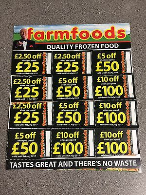 Farmfoods Coupons Vouchers 10% Discount. Worth £70. Valid Until 1st July 2017