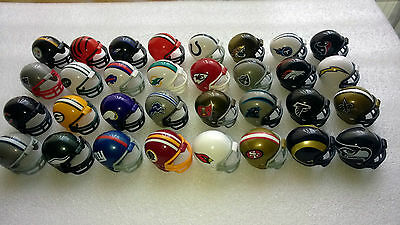 Nfl American Football Riddell Helmet (Mini 1.5 Inch) Pick 6 From 32 Available