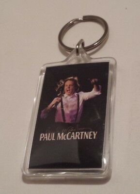 RARE* PAUL McCARTNEY UP AND COMING TOUR KEYCHAIN COLLECTIBLE!