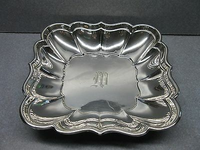 Reed & Barton Windsor Scalloped Square Sterling Silver Tray/dish