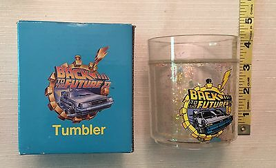 1989 Back to the Future Movie Drinking Tumbler Boxed