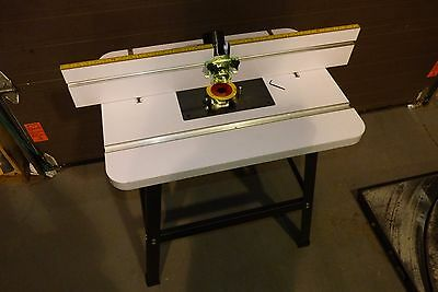 NEW in box - Craftex Router Table with Stand and Fence B2944