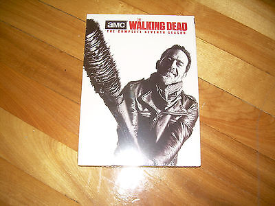Seventh Season 7 Seven Sealed NEW THE WALKING DEAD (DVD, 2017, 5 DISC SET)