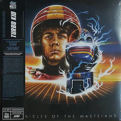 "Le Matos - Turbo Kid (Chronicles Of The Wasteland) - 2* 12"" Vinyl - Death Waltz"
