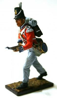 Tin Soldier, collector quality, soldier of English Grenadier Guards № 1, 54 mm
