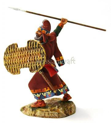 Tin Soldier, collector quality, Persian warrior № 1, 54 mm, The Ancient world