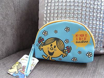 Little Miss Little Miss Sunshine Cosmetic Bag New with Tags