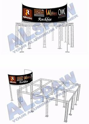 Alspaw 20' X 50' Aluminum Truss Trade Show Booth