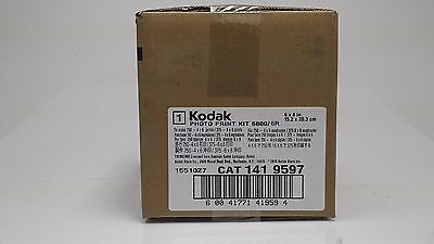 Kodak 6800/6850 6R Kit 750 of 4x6 or 375 of 5x7 or 6x8 1010867 NEW 141-9597