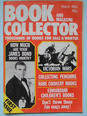Book & Mag'  Collector  First Issue - James Bond/rare Cook Books/victorian Wars