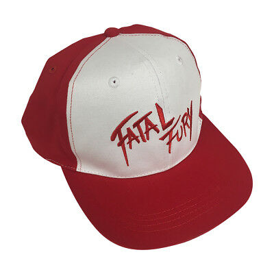 Fatal Fury Baseball Cap Terry Bogard Hat Video Game Series The King of  Fighters b78d69d5ac8d