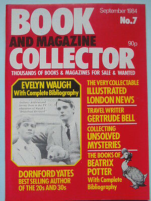 BOOK & MAG'  COLLECTOR  No 7 SEPT. 1984 - WAUGH/BEATRIX POTTER/GERTRUDE BELL