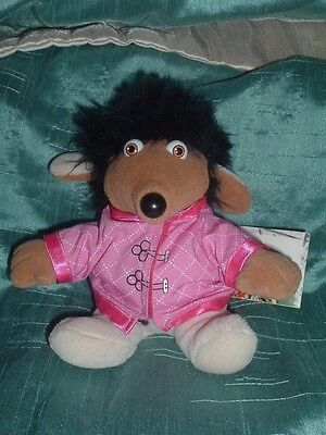 The Wombles Small Shansi  Womble Beanie Plush Soft Toy With Tag