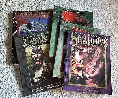 Vampire and Mage: The Ascension RPG Book Lot from White Wolf Games