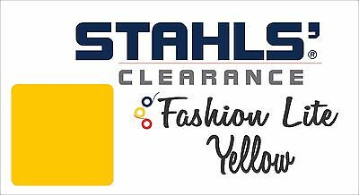 "12"" x 10 Yards - Stahls' Fashion-LITE Heat Transfer Vinyl - Yellow"