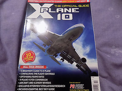 X Plane 10 Official Guide Book PC Mac strategy aviation flight sim