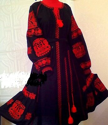 Ukrainian embroidery, embroidered dress(or blouse), ANY COLOR, XS - 4XL, Ukraine