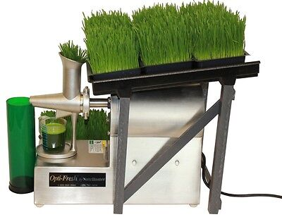 Nutrifaster Opti Fresh Wheat Grass Juicer | Commercial |  Used Cold Press Juicer