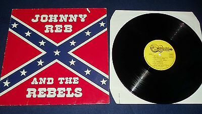 "Johnny Reb and the Rebels >12""LP  ""SAME""  (1981) Rare  Country"