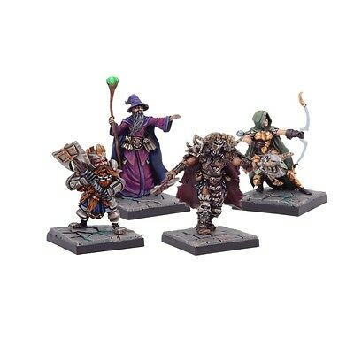 Dungeon Saga: Legendary Heroes of Dolgarth. 28mm fantasy miniatures.