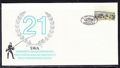 South West Africa  1987 Freshwater Angling  First Day Cover - Unaddressed