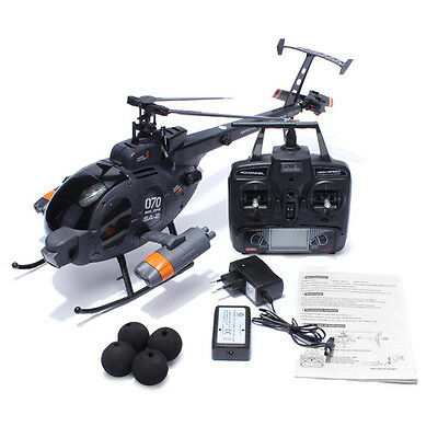 [NEW] RC Helicopter  6-Axis Gyro Flybarless FX070C 2.4G 4CH