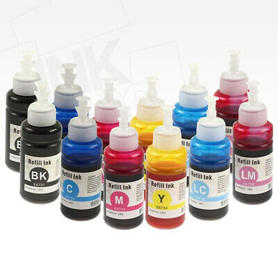 2 Full Sets of High Yield non-OEM Ink for EPSON Tank System L800 L805 L810
