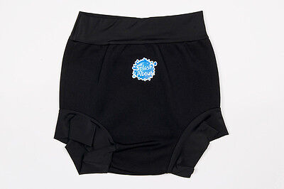 Splash About Special Needs Swimming Shorts. Black Neoprene Disability Swim Short
