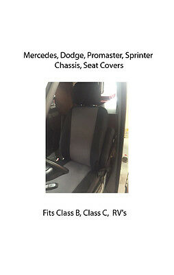 Sprinter Seat Covers cordura class B or C RV!