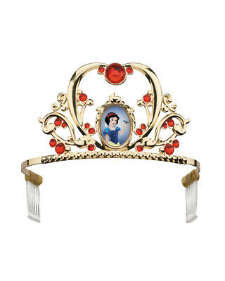 Child's Girls Deluxe Disney Princess Snow White Tiara Costume Accessory