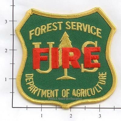 United States - US Forest Service FIRE Forest Fire Patch