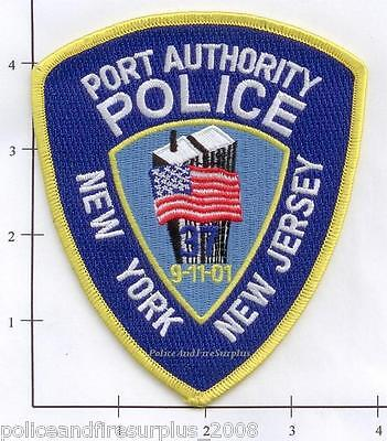 New York New Jersey - NY NJ Port Authority Police Dept Patch v2   9-11-01 WTC