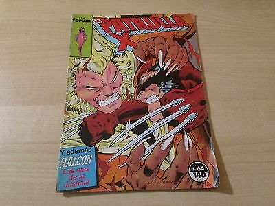 Marvel - La Patrulla X nº 64 - Forum - comic - Comics