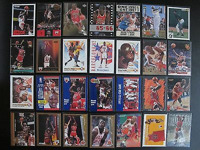 Michael Jordan 1990-99 130 Trading Card Upper Deck Fleer Hoops Skybox Insert lot