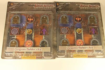 Mage Knight Dungeon Builders Kit.  Lot of 2