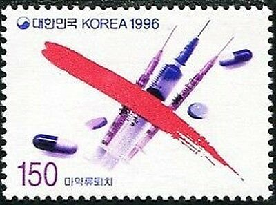 Korea South 1996 SG2201 150w Syringes and Drugs MNH