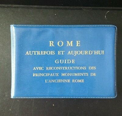 Rome  vintage scenic views pictures flip book past and present