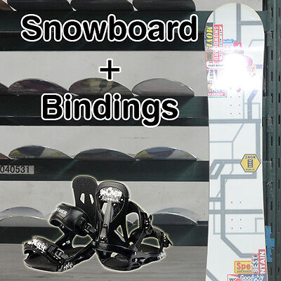 New Snowboard Combo 150cm Board and Snowboard Bindings Complete Set