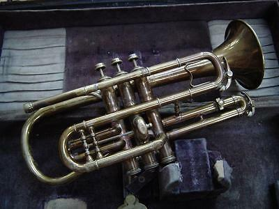 Early Vintage C.G. Conn Perfected Wonder Large Bore Cornet