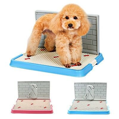 New Pet Toilet Comfy Puppy Dog Indoor Urinal Potty Pee Training Tray Trainer