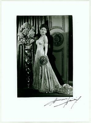 DOLORES DEL RIO ORIGINAL ART PHOTO ANNEMARIE HEINRICH SIGNED NM 1940s