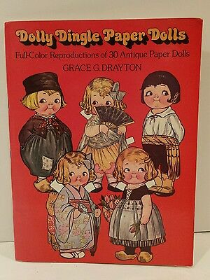 Dolly Dingle Paper Dolls 1978 Grace G Drayton Reproduction Paper Dolls