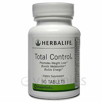 2 X HERBALIFE  TOTAL CONTROL 90 Tablet    Free Shipping