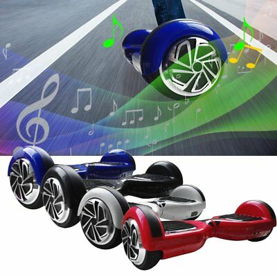 "6.5"" Electric Self-Balancing Scooter Bluetooth LED  SkateBoard 2 Wheel"