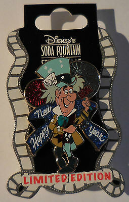 Disney Pin DSF New Year's 2013 Mad Hatter Pin LE300