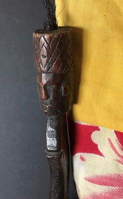 Old West Timor Carved Wooden Ceremonial Sword …beautiful collection piece