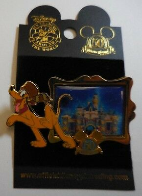 Disney Pin DLR Happiest Homecoming On Earth Pluto Pin