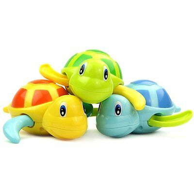 Set of 3 Float Pool Wind Up Baby Bath Toys Swimming Tub Bathtub Cute Swimming
