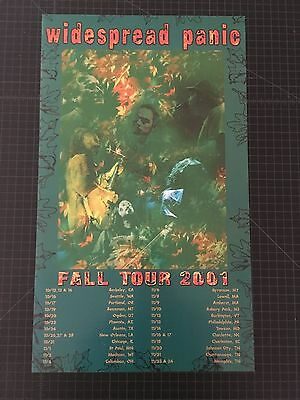 VTG Widespread Panic Fall Tour 2001 Poster FREE SHIPPING
