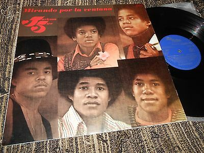 THE JACKSON 5 FIVE Mirando por la ventan LP 1972 SPAIN MICHAEL JACKSON PROMO